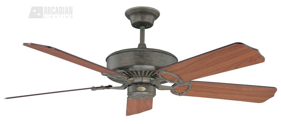 Concord fans 52ma5 madison 52 traditional ceiling fan cc 52ma5 ap aged pecan with dark walnut blades mozeypictures Gallery