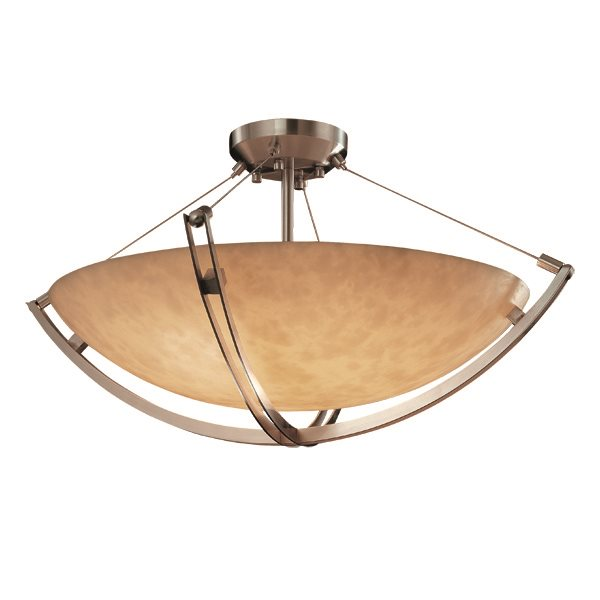 Ceiling Light Crossbar : Justice design group cld crossbar quot transitional