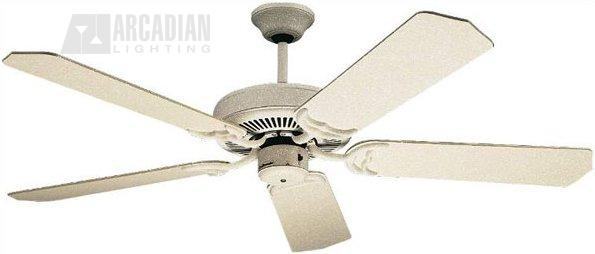 Craftmade c52 sw 52 decorative ceiling fan cm c52 sw sandstone white motor finish with natural pine decorative ceiling fan blades aloadofball Images