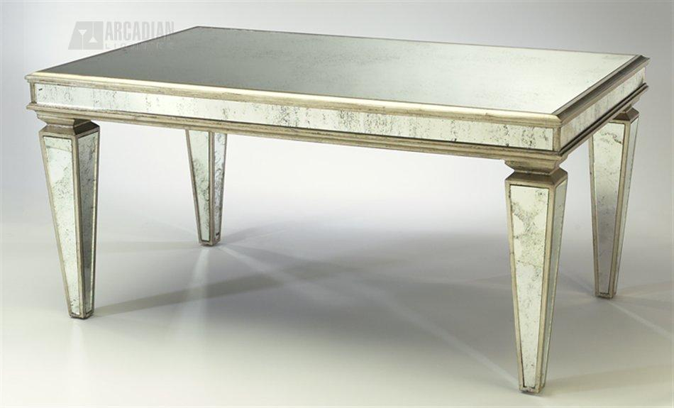 Cyan Design 00872 Antique Mirrored Coffee Table Cn 00872