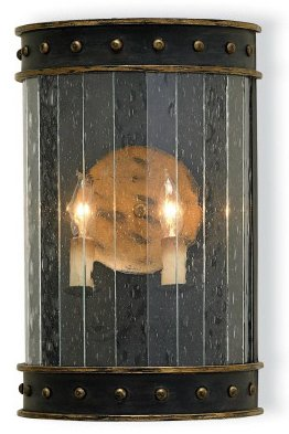 Currey and Company Wharton Traditional Wall Sconce X-1305