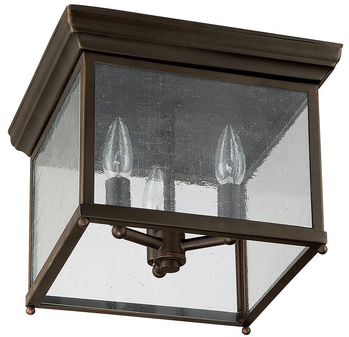 Capital Lighting 9546ob Transitional Outdoor Flush Mount Ceiling Light Cp 9546ob