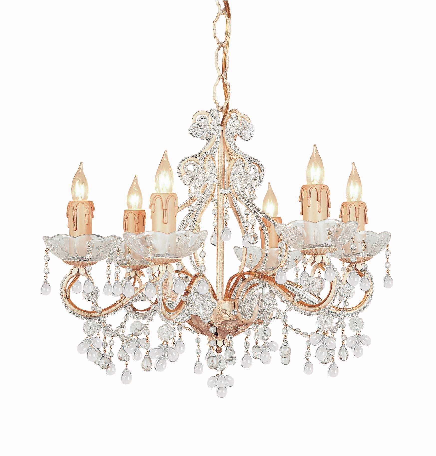 Crystorama 4507 Cm Clear Paris Flea Market Chandelier Ctr