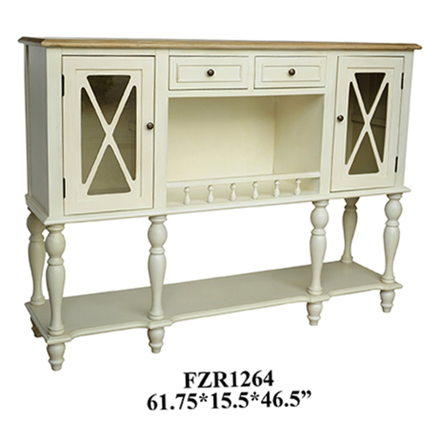 Crestview Collection Cvfzr1264 Jamestown Sideboard With