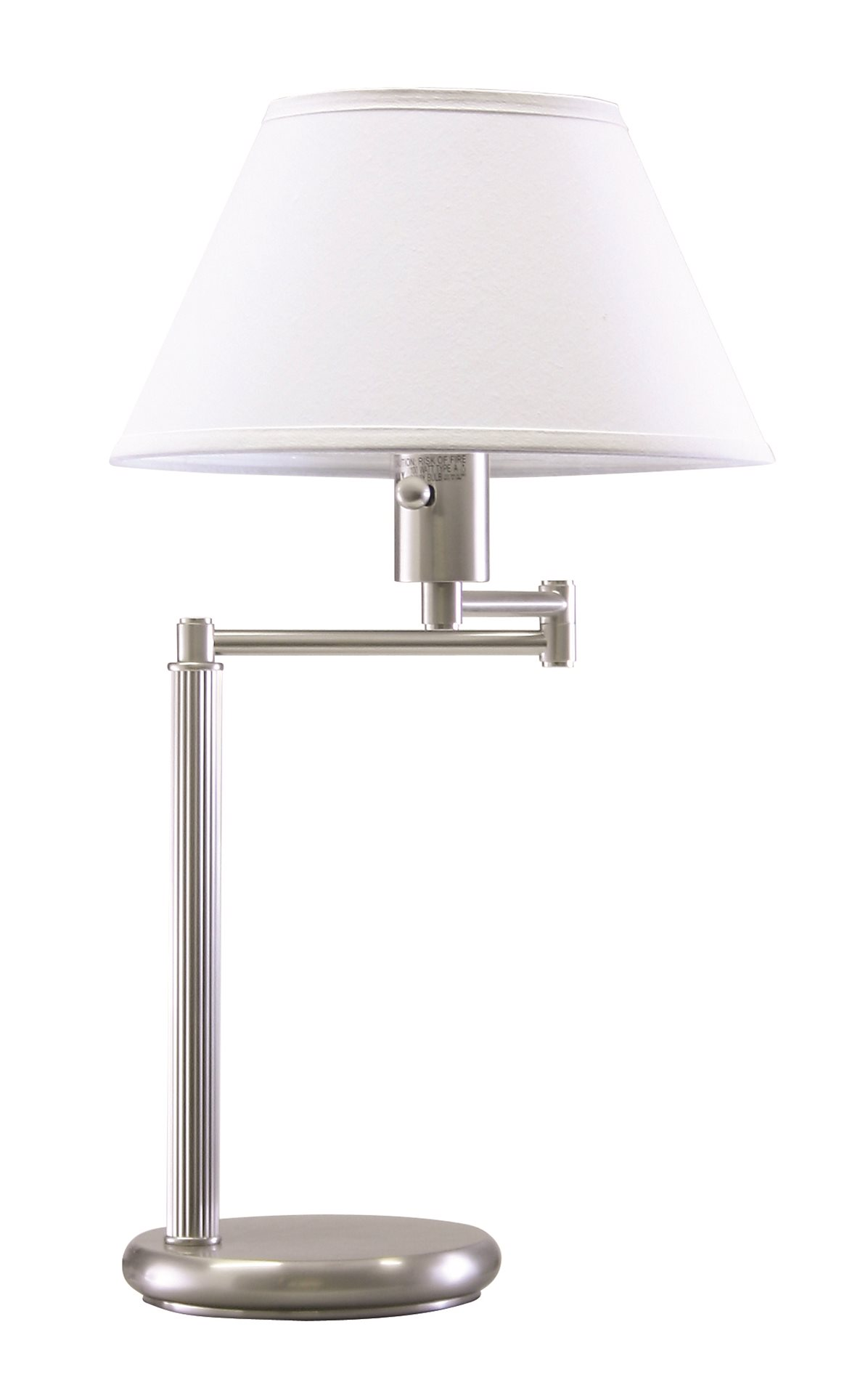 52 home office collection transitional swing arm table lamp ht d436 52