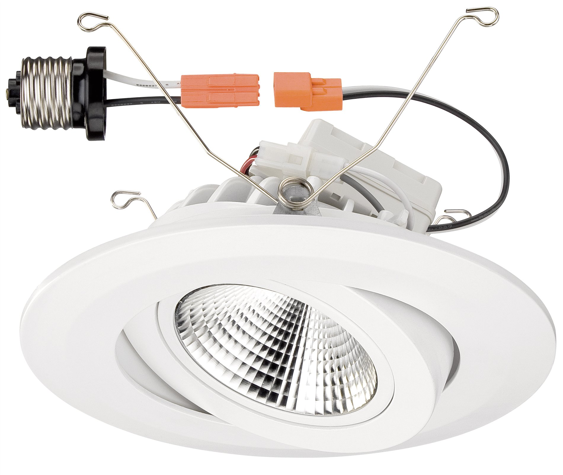 Recessed lighting retrofit pendant : Designers fountain led wh quot recessed retrofit
