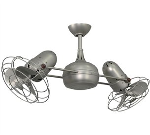 Atlas Dg Dagny Dual Rotational Contemporary Ceiling Fan Mtf Dg