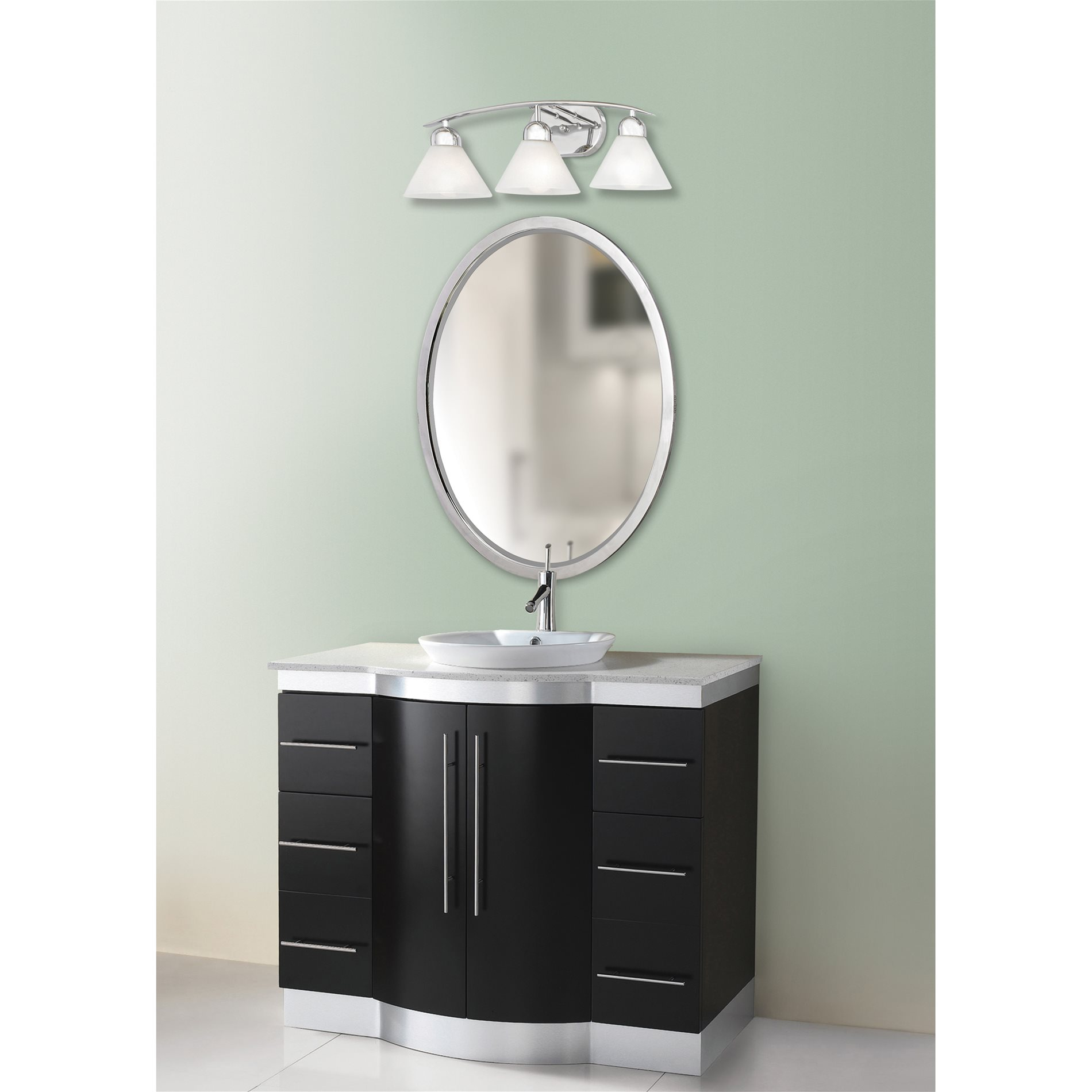 Quoizel Di8503c Demitri Modern Contemporary Bathroom Vanity Light Qz Di8503c