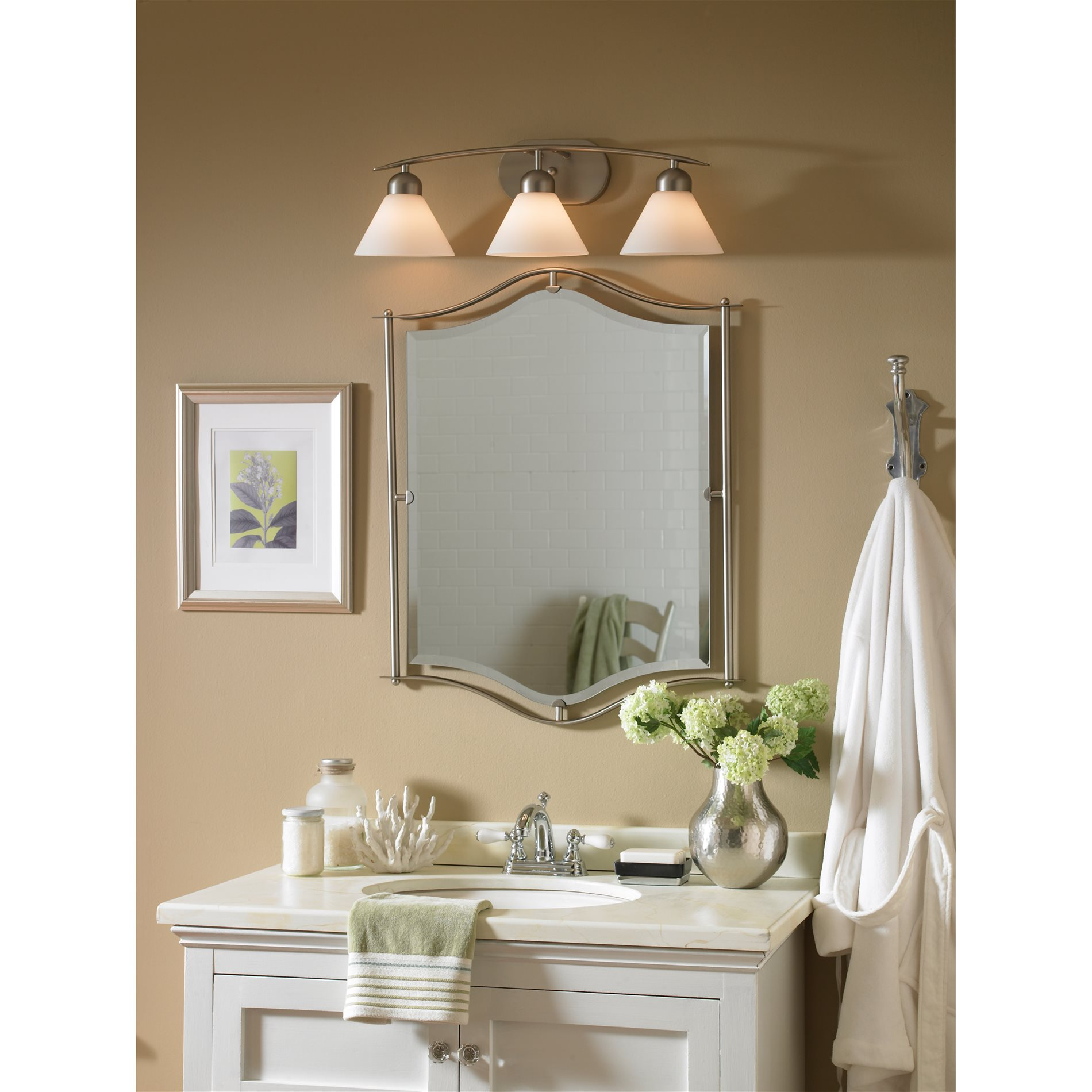 Quoizel Di8503es Demitri Modern Contemporary Bathroom Vanity Light Qz Di8503es