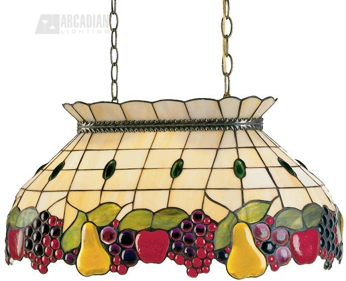 Dale Tiffany LTG Fruit Pool Tiffany Kitchen Island Light DT - Tiffany kitchen ceiling lights