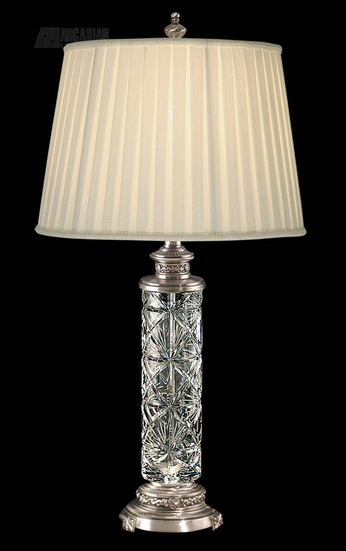 Dale tiffany gt80121 jada traditional crystal table lamp for Home decor 80121