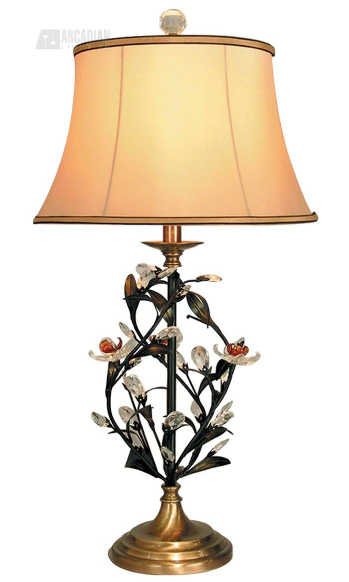 Dale Tiffany PT60344 Edwina Tropical Table Lamp DT PT60344