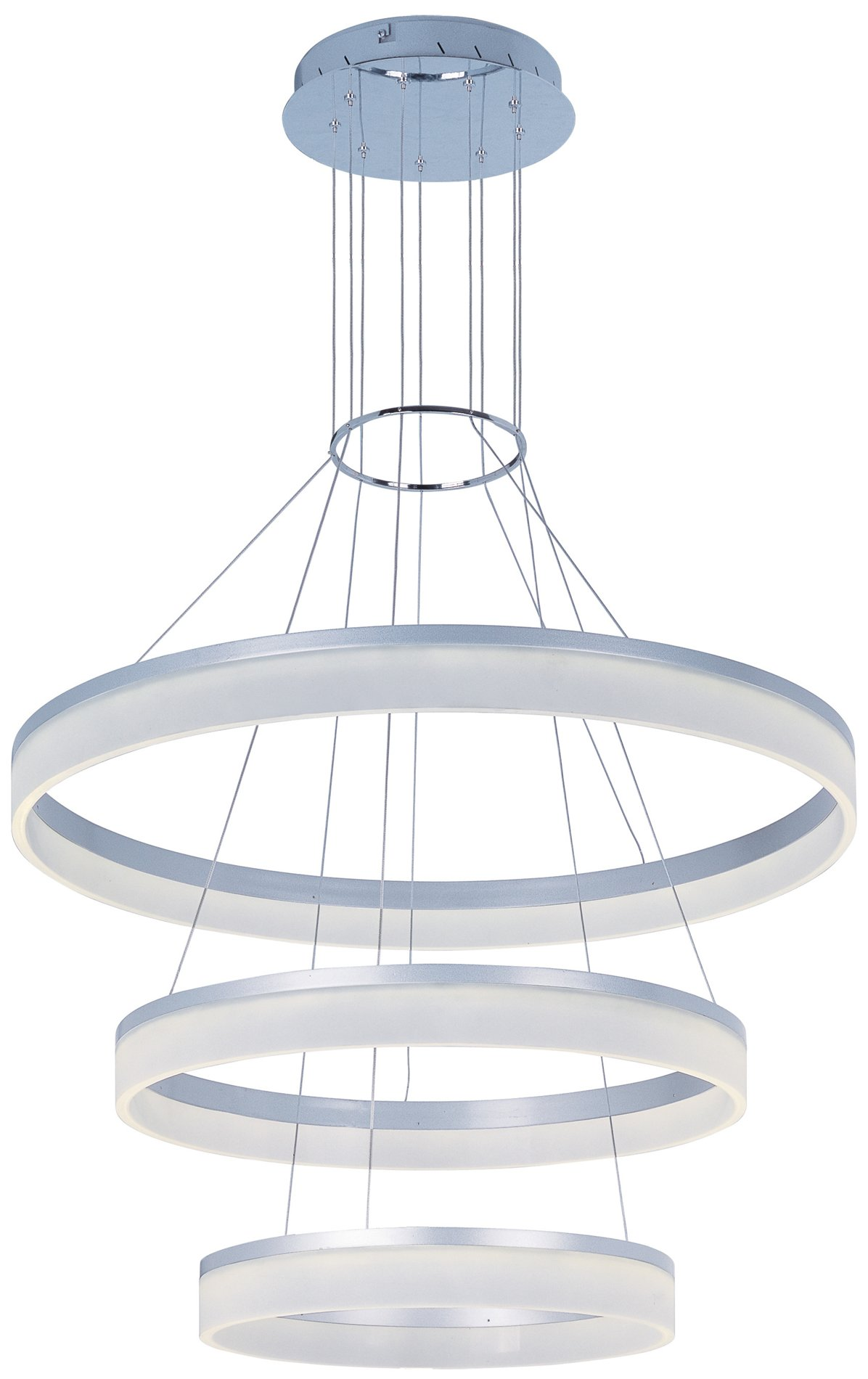 e22456 11ms saturn led contemporary 3 tier pendant light e22456 11ms