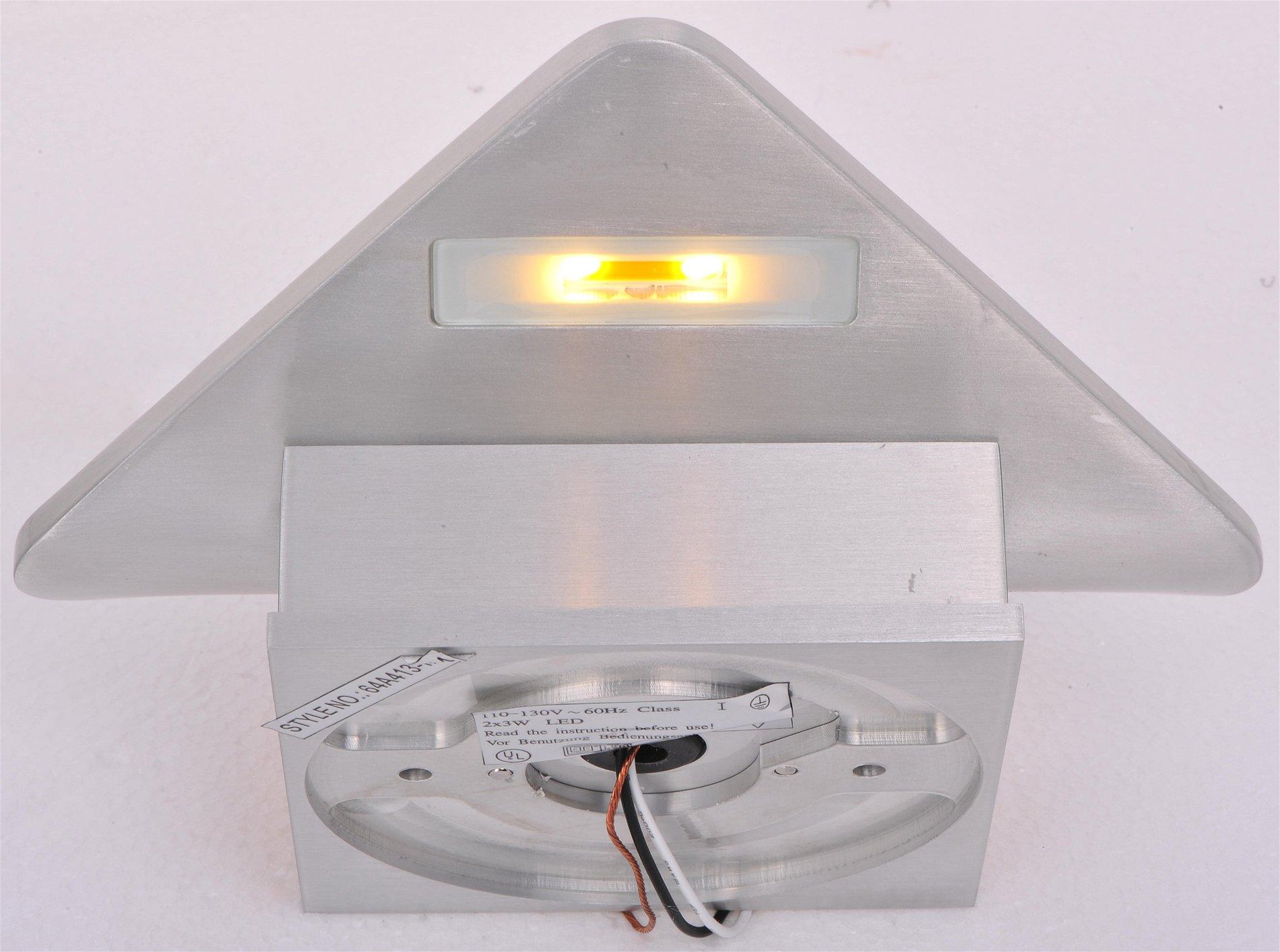 ET2 E41318-SA Alumilux LED Modern / Contemporary Outdoor Wall Sconce E41318-SA