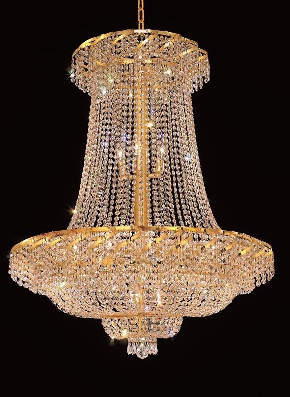 Elegant Foyer Chandeliers : Elegant lighting eca g belenus foyer light elgt