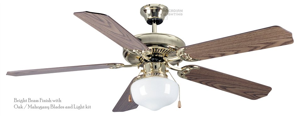 Craftmade Elc52 Sheffield 52 Quot Transitional Ceiling Fan