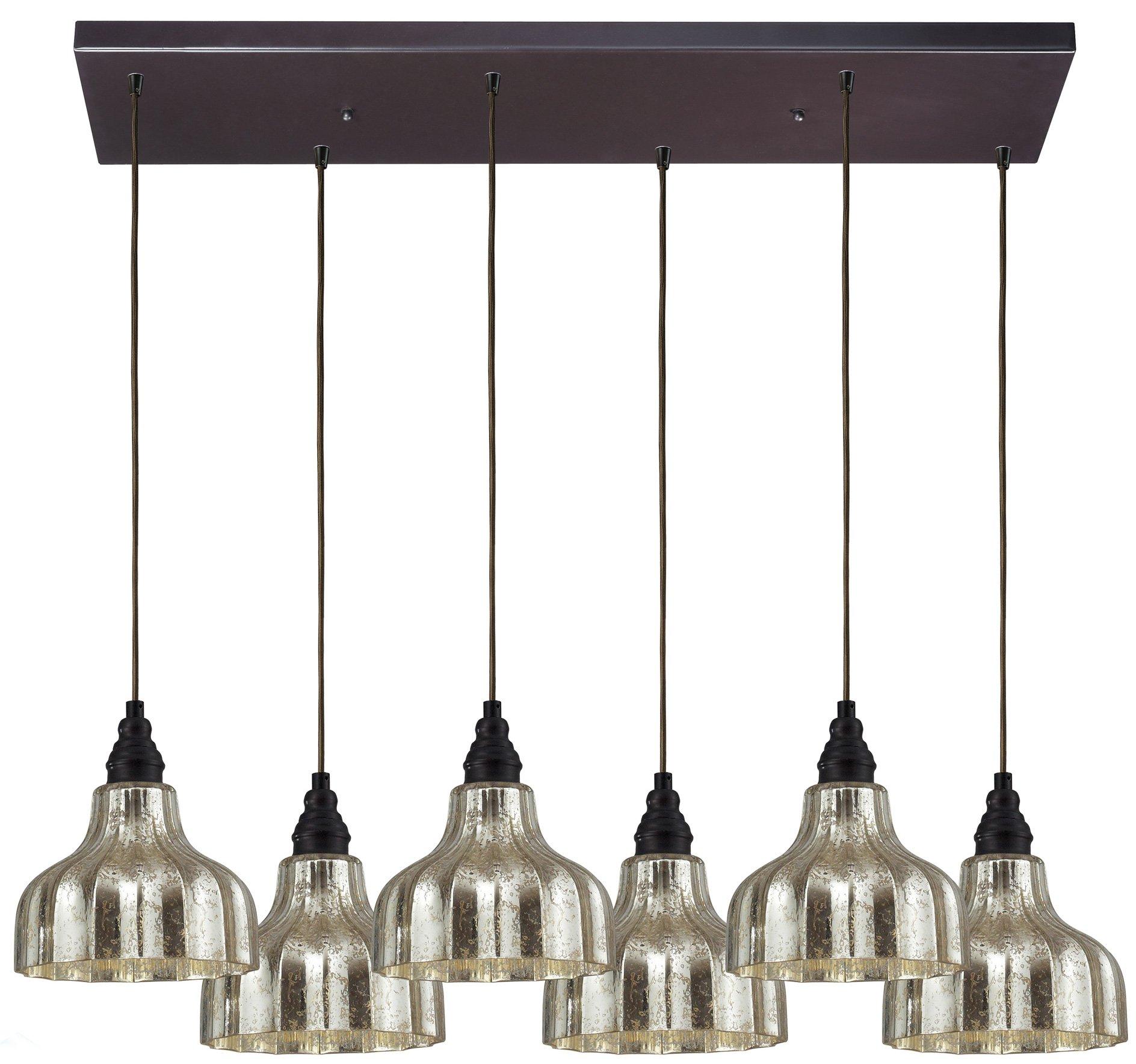 Elk Lighting, Inc. Elk Lighting Danica Contemporary Pendant Light X-CR6/80064