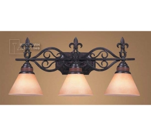 Elk Lighting Fleur De Lis Fleur De Lis Traditional Bathroom Light    ELK 6073 3 See Details.