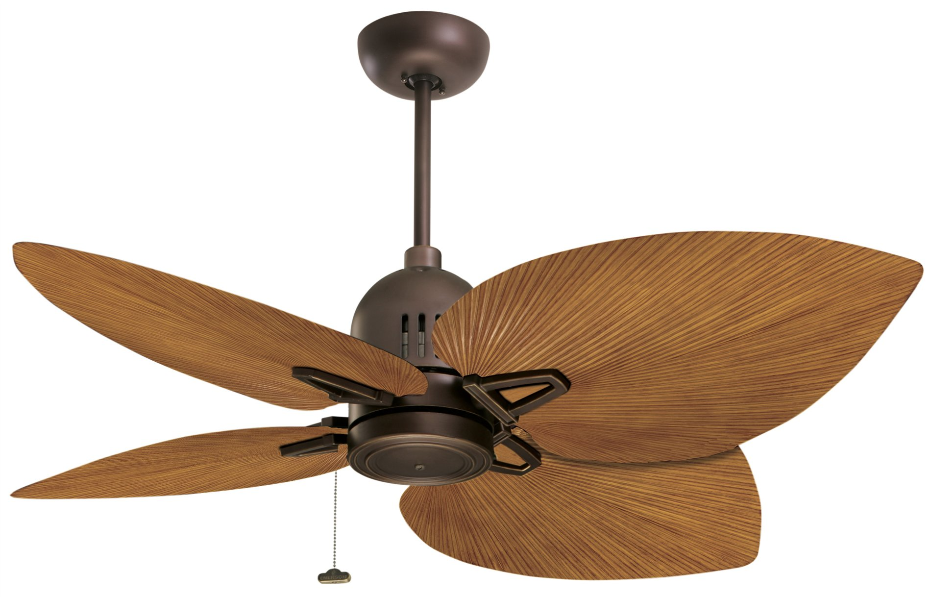 Emerson b83pcn 22 all weather palm leaf ceiling fan blades em b83pcn - Leaf blade ceiling fan with light ...