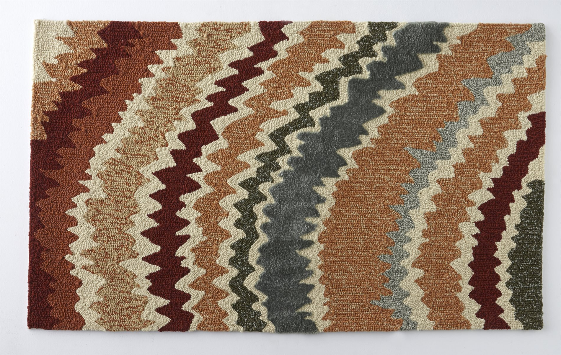 Loloi Rugs ENZOEZ 04SQ Enzo Spice Outdoor Hand Hooked Rug