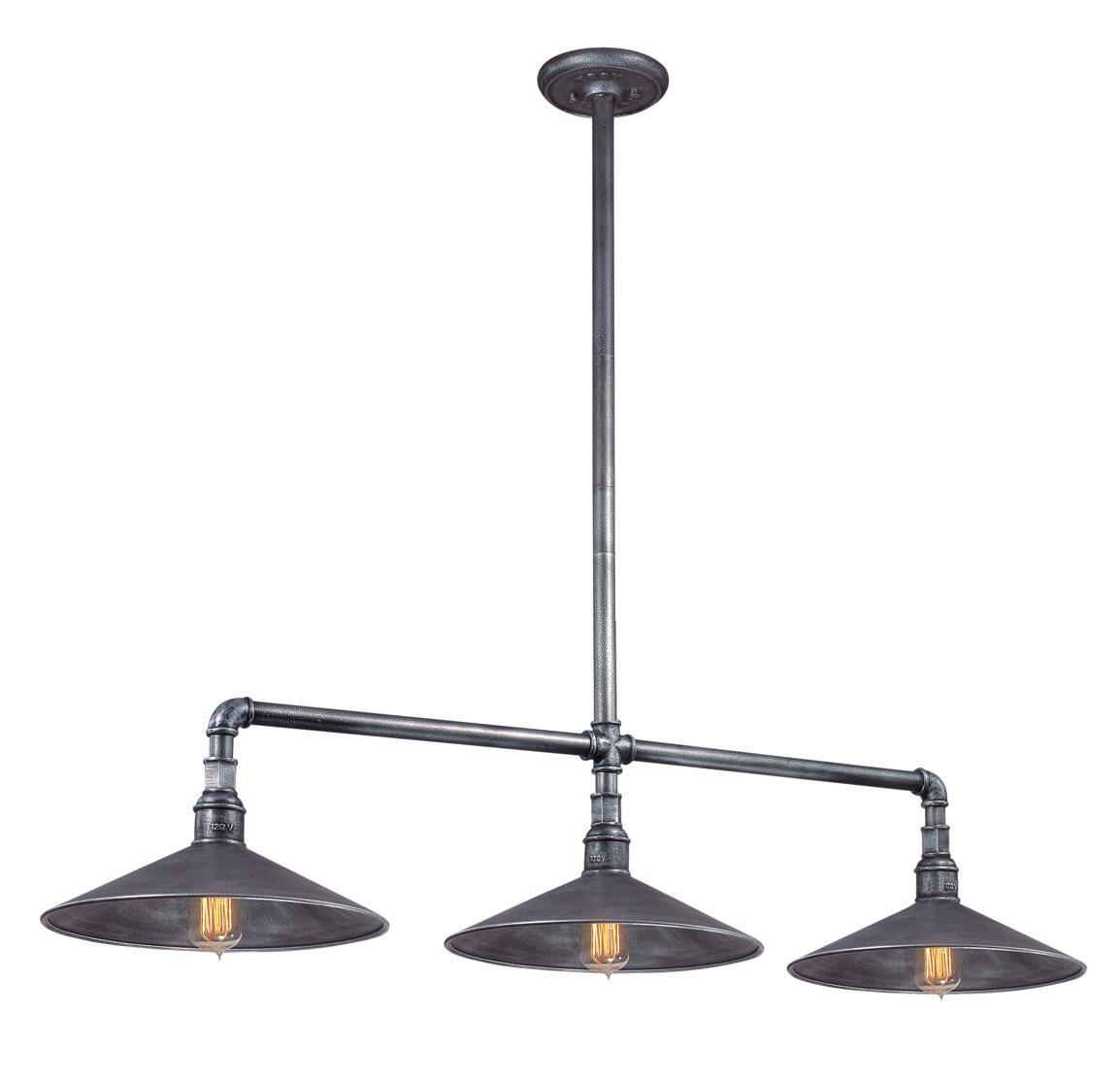 Troy Lighting F2776 Toledo Transitional Kitchen Island
