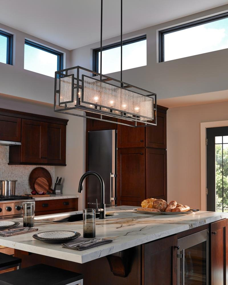 Kitchen Lighting Edmonton: Murray Feiss F3037/5DWZ Prairielands Transitional