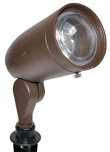 Focus industries dl 20 bullet mr16 outdoor spotlight fc dl 20 for Bullet landscape lights