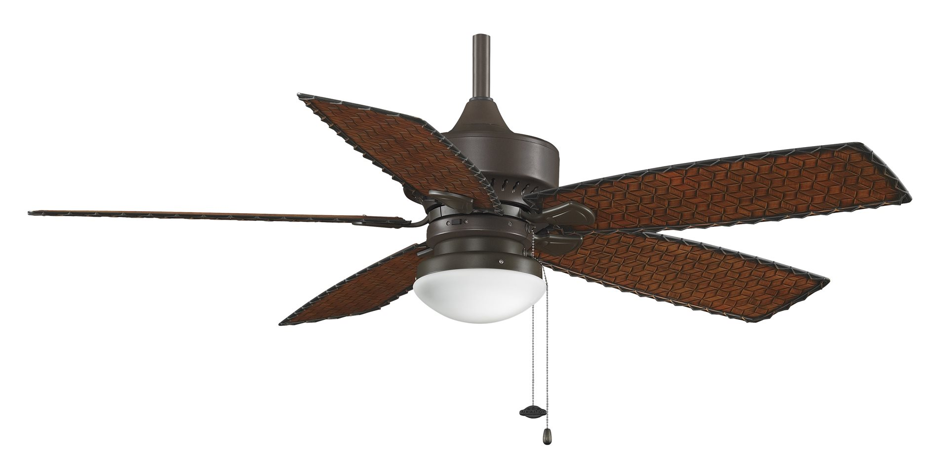 fanimation fp8016ob cancun 52 transitional ceiling fan. Black Bedroom Furniture Sets. Home Design Ideas