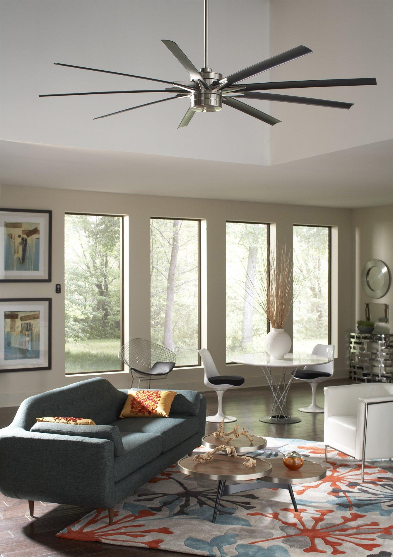 Decorating Ceiling Fan : Fanimation fpd bn odyn led quot modern contemporary