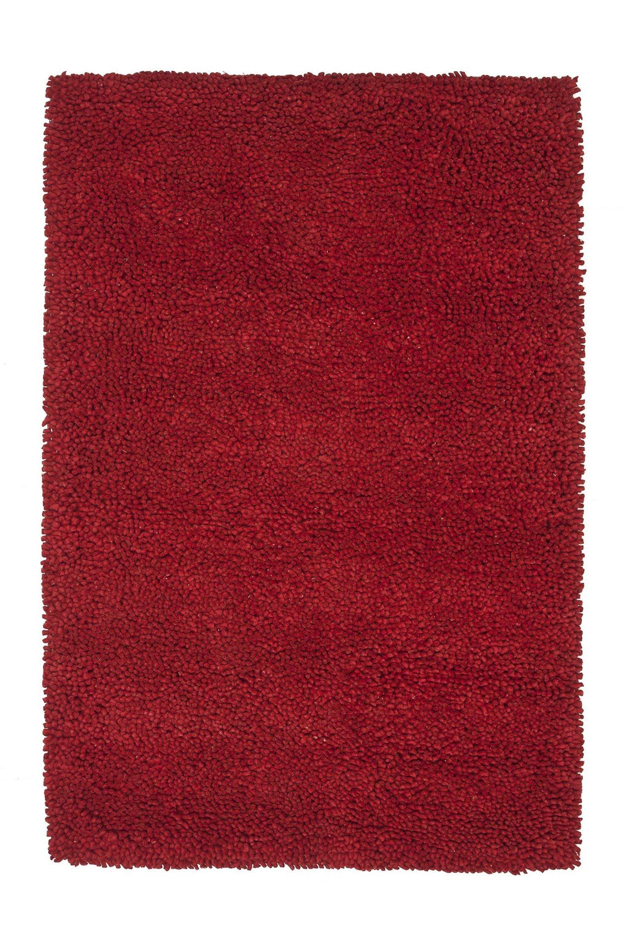 Loloi Rugs Frankie Red Hand Woven Shag Rug X-670500ER10-KFKARF