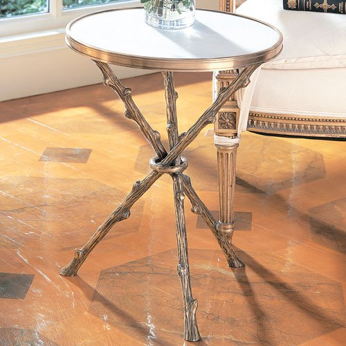 Global Views Twig Chandelier: Global Views 8976 Twig Traditional Side Table GLV-8976