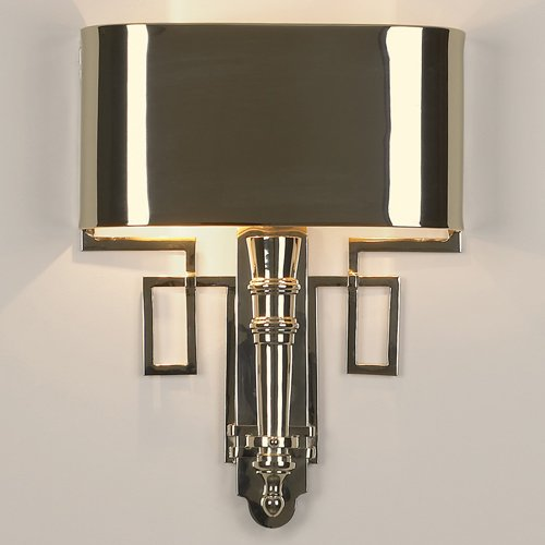 Wall Sconces That Are Not Hardwired : Torch Nickel Transitional Hardwired Wall Sconce - XVLG-WH-05609-9