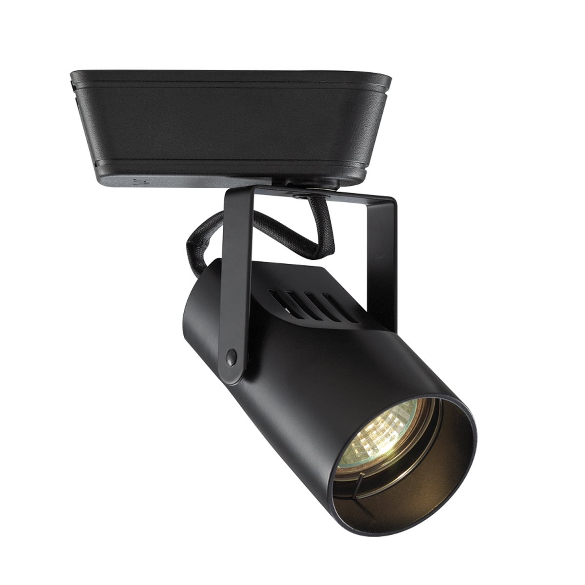 Wac lighting 007 premium low voltage framing track light fixture jht 007 for use with j j2 2 circuit system connector 5 bk black aloadofball Gallery