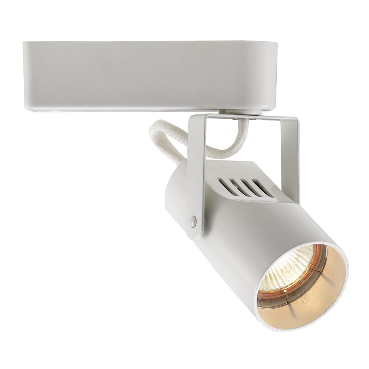 wac lighting  premium low voltage framing track light  - lhtl for use with l  j circuit system connector    wt white