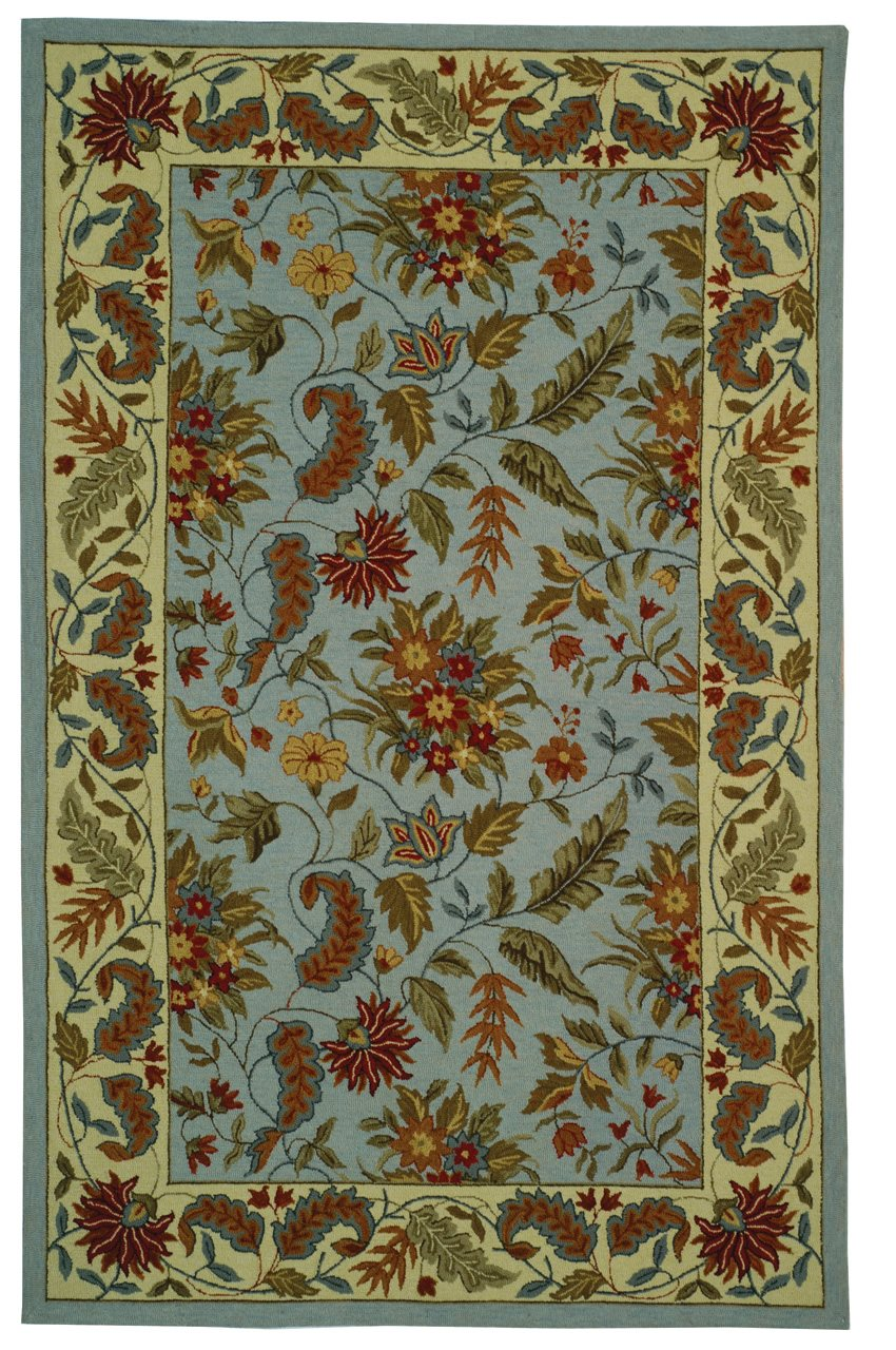 Safavieh HK141D Chelsea Country & Floral Hand Hooked Wool