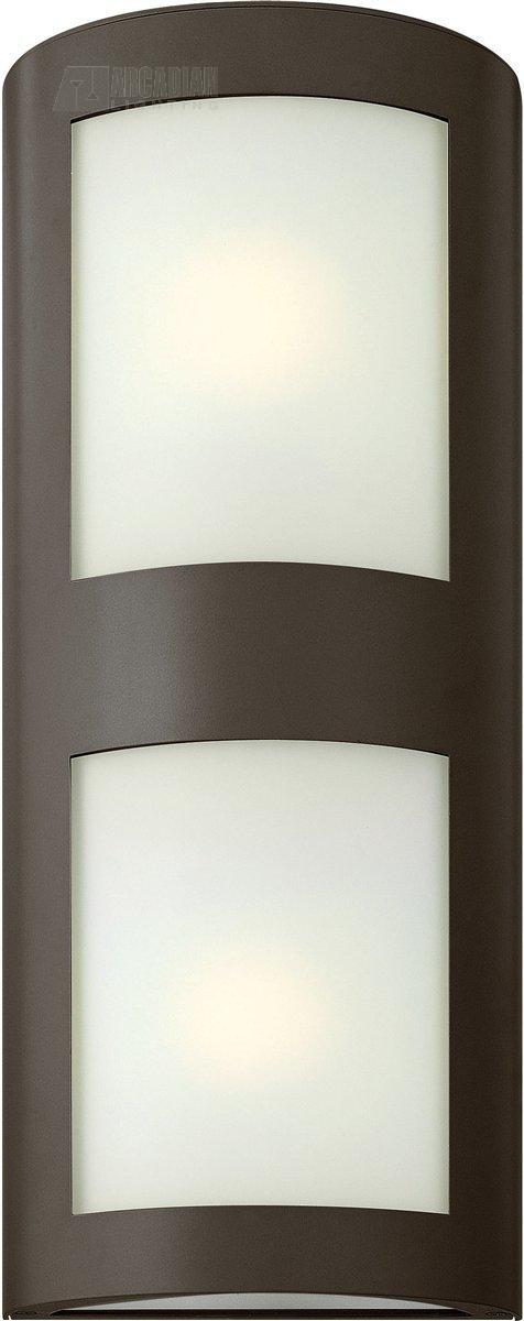 Hinkley Lighting 2025BZ Solara Contemporary Outdoor Wall Sconce HK 2025 BZ