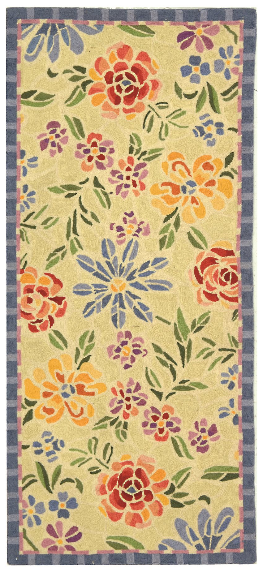 Safavieh Hk214a Chelsea Country Amp Floral Hand Hooked Wool