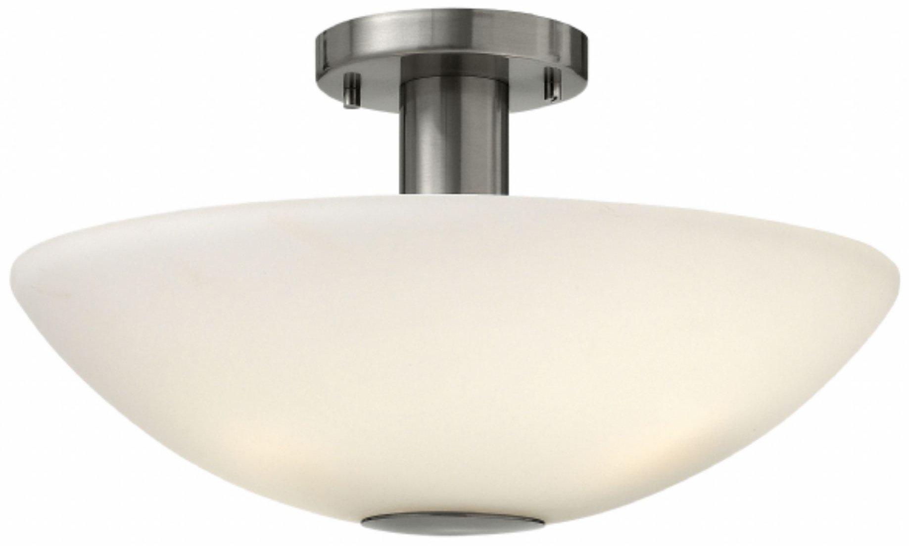 hinkley lighting 3341bn camden modern contemporary semi
