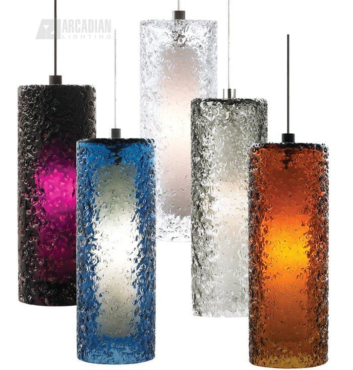 Zoom  sc 1 st  Arcadian Home & LBL Lighting HS547 Mini-Rock Candy Cylinder Modern / Contemporary ... azcodes.com