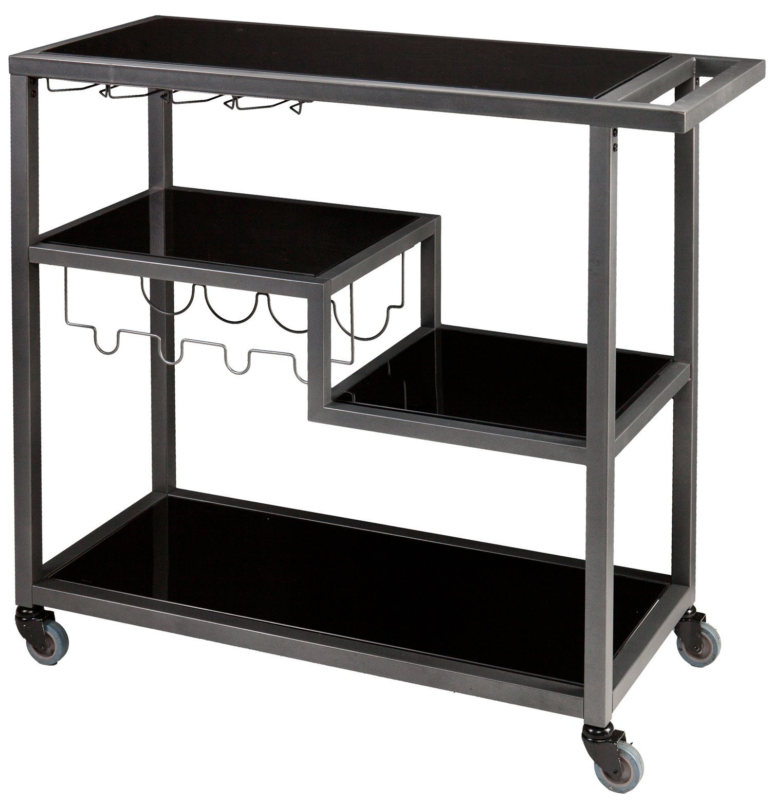 Holly & Martin HZ8810 Zephs Transitional Bar Cart SEI-HZ8810
