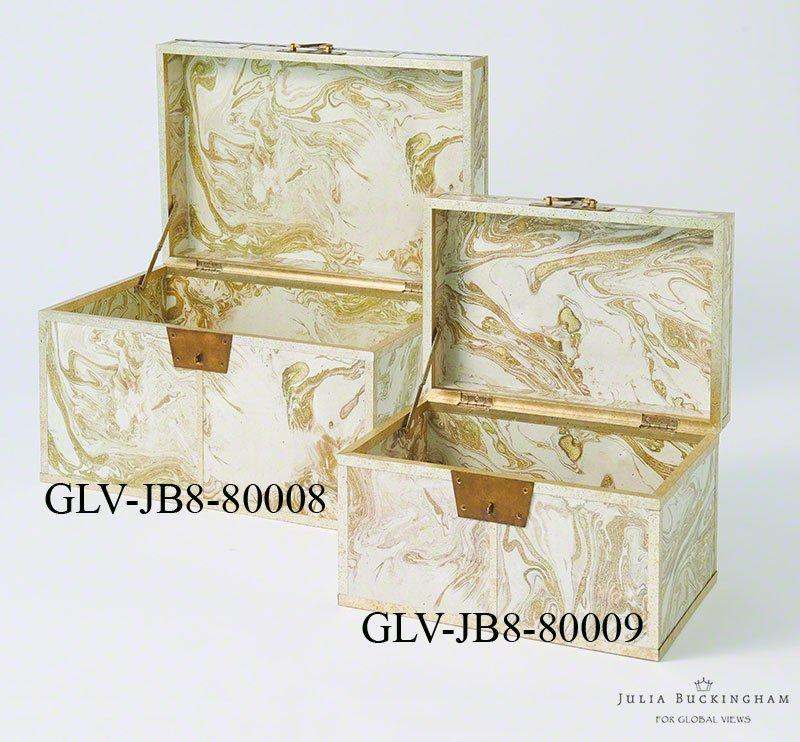Global Views Box: Global Views JB8.80009 Transitional Treasure Box