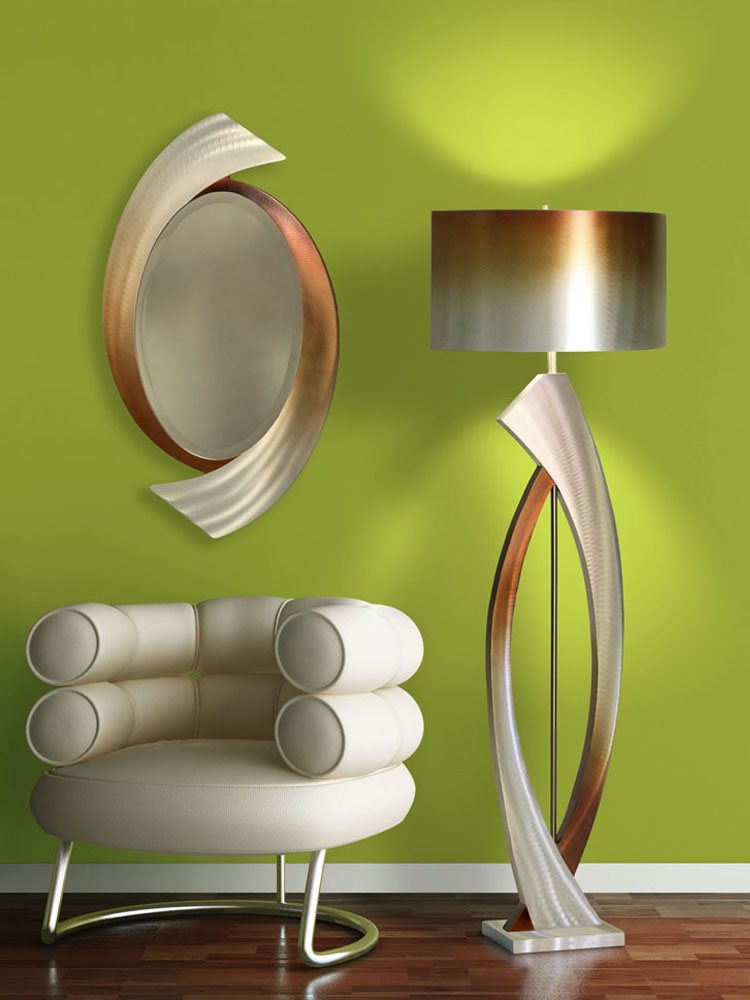 Nova Lighting Jfl4810 Swerve Contemporary Floor Lamp Nv