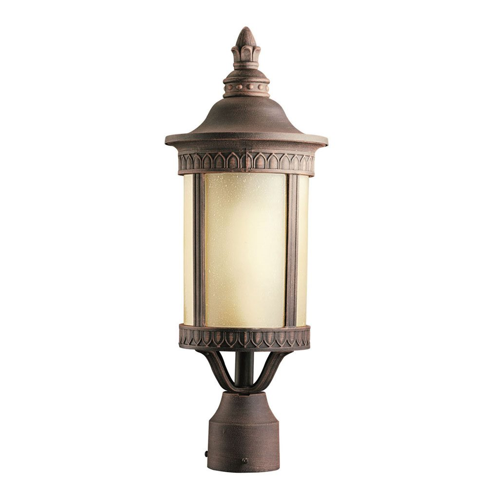Kichler Lighting 10906pr Randolph Energy Efficient Transitional Outdoor Post Lantern Light Kch