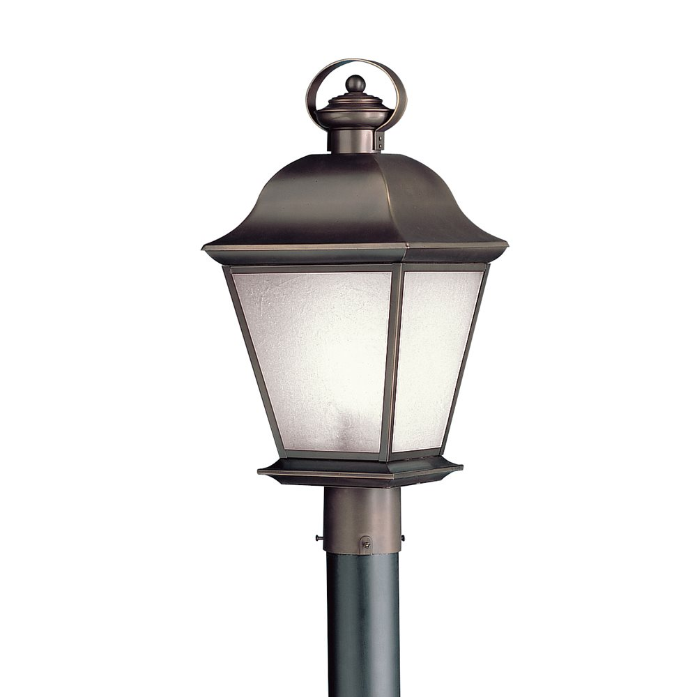 Kichler Lighting 10911oz Mount Vernon Energy Efficient Transitional Outdoor Post Lantern Light