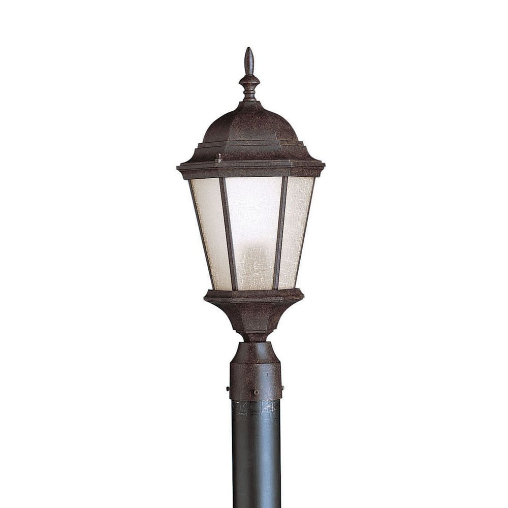 Kichler Lighting 10956tz Madison Energy Efficient Transitional Outdoor Post Lantern Light Kch