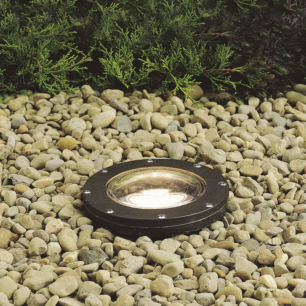 Kichler lighting 15268az hid small in ground outdoor well light kch zoom mozeypictures Image collections