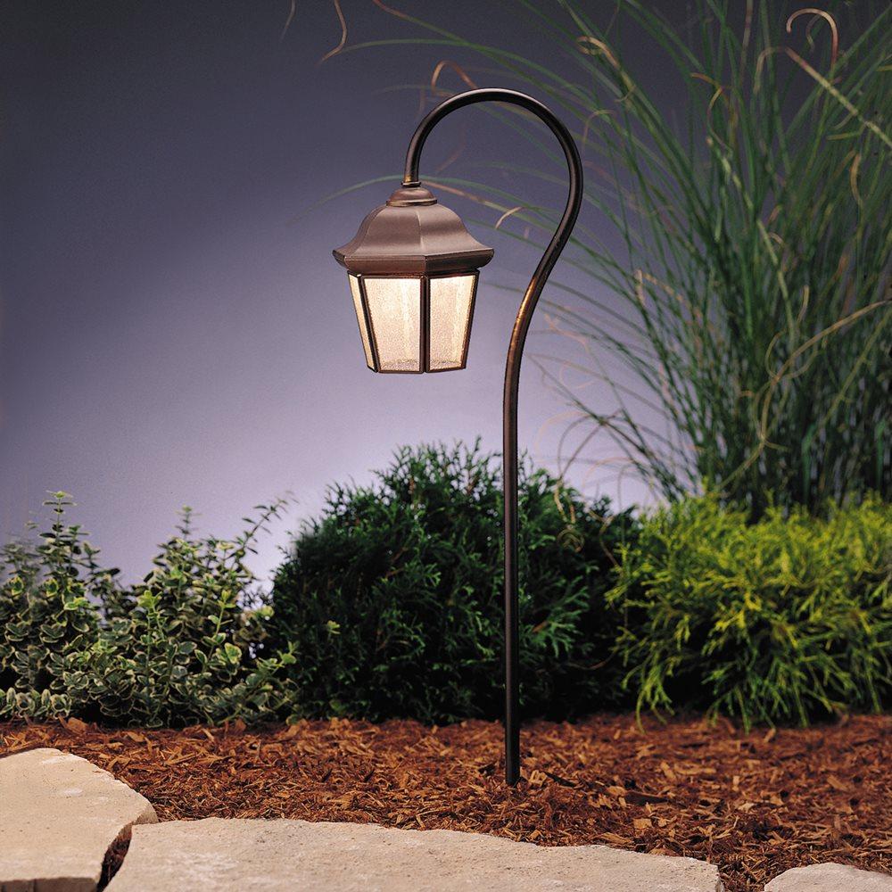 Kichler Lighting 15352OZ Traditional Lantern Path Light
