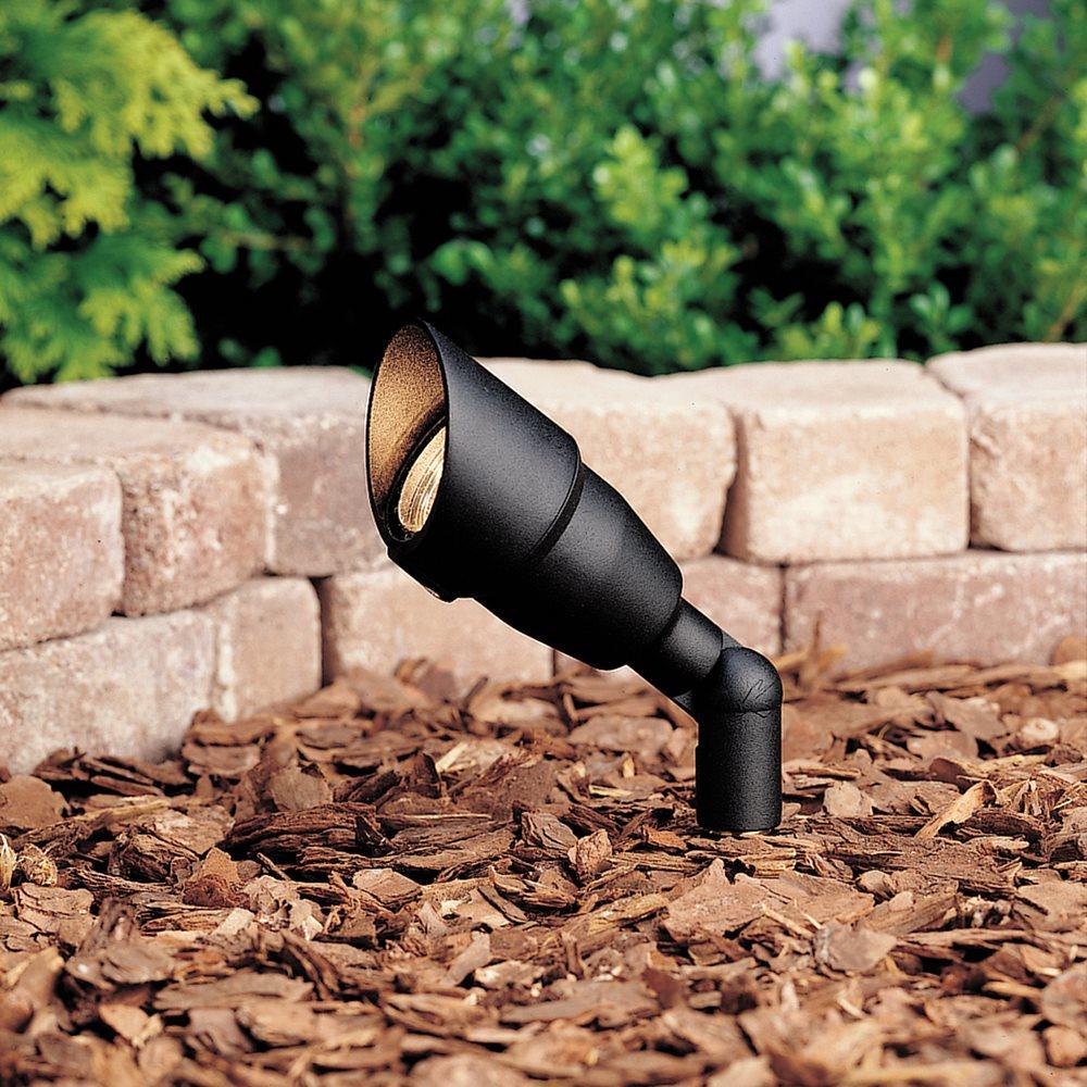 Outdoor Lighting Spotlights For Home Mini Microscope: Kichler Lighting 15374BKT20L24 Mini Accent Outdoor