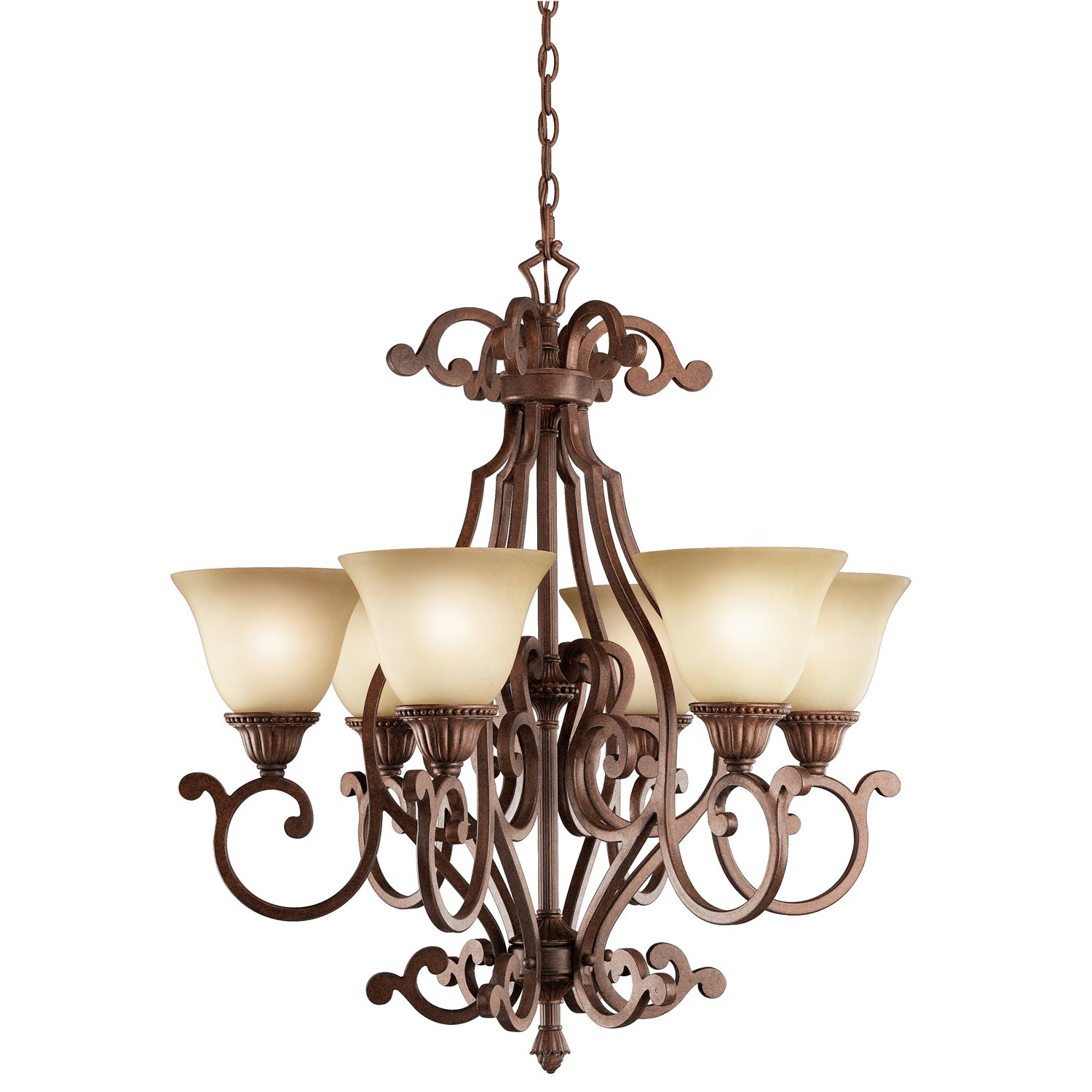 Kichler Lighting 2216TZG Larissa Traditional Chandelier