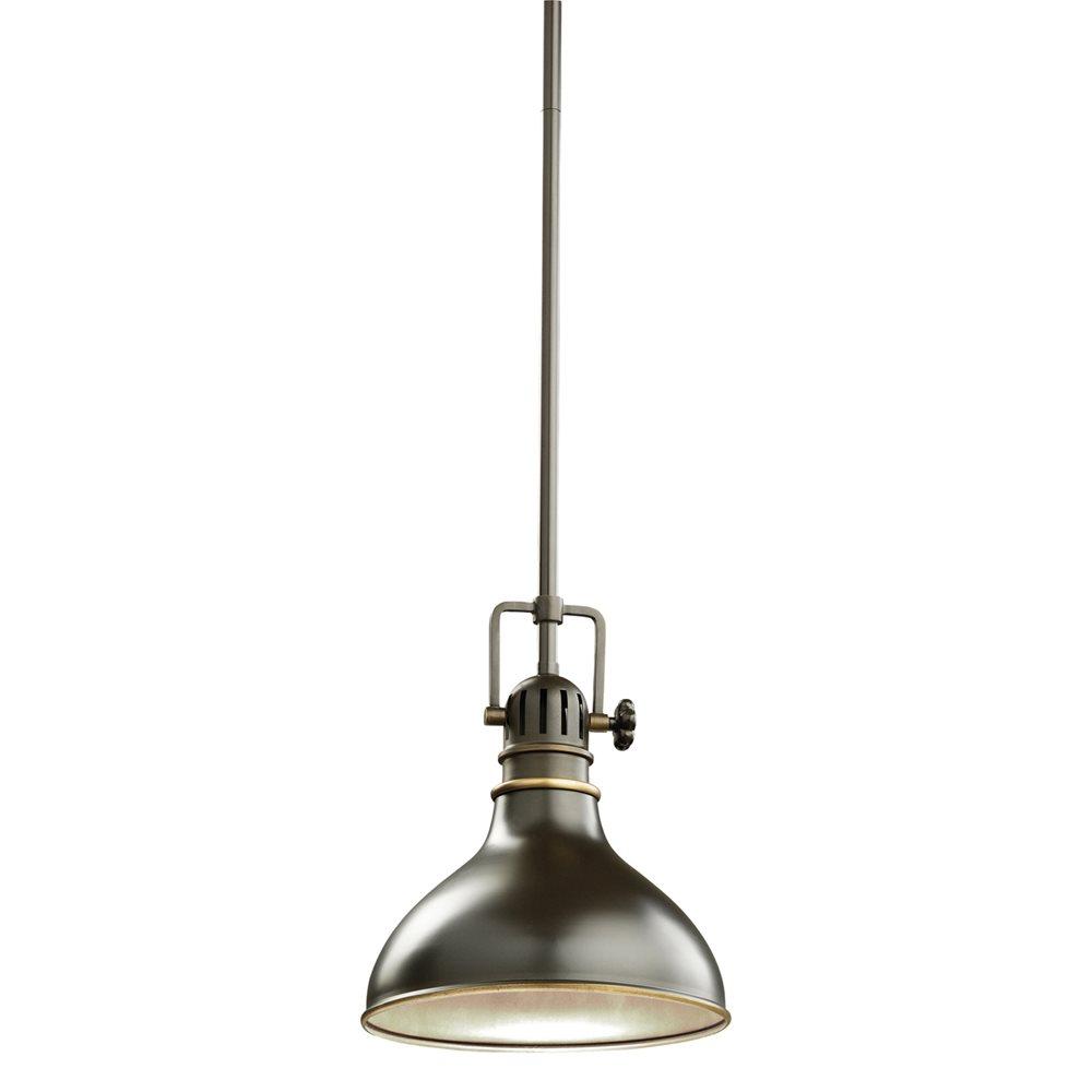 Kichler lighting 2664oz traditional mini pendant light kch for Kichler kitchen pendant lighting